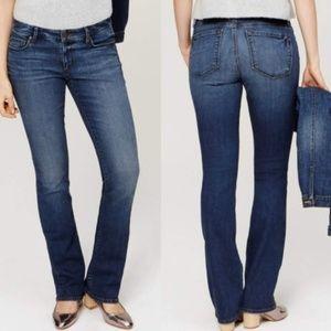 LOFT Modern Boot Jean's Medium Wash Denim Pants 6